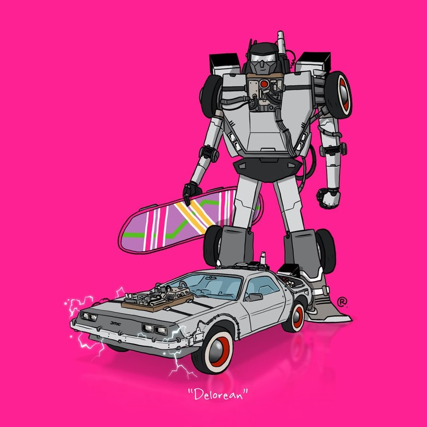 What If Popular 80s Cartoons Cars Were Actual Transformers