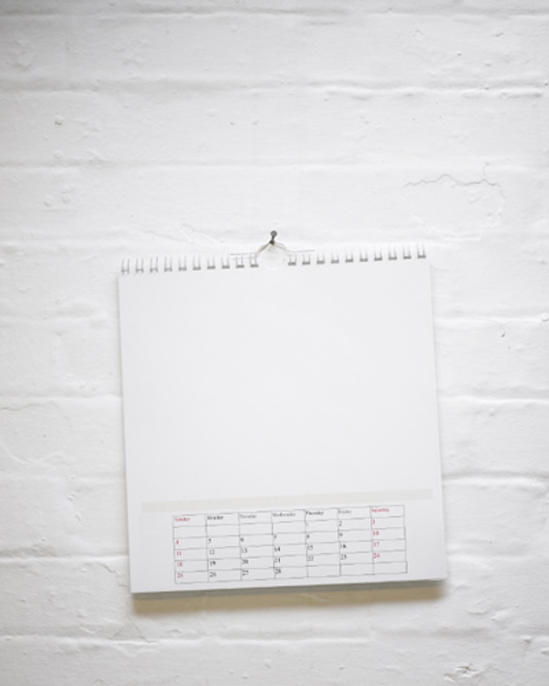 Misplaced calendar
