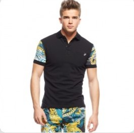 versace-printed-sleeve-polo-shirt