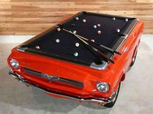 Billiards Mustang