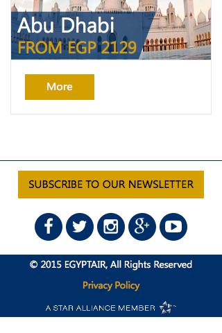 Mobile Egyptair