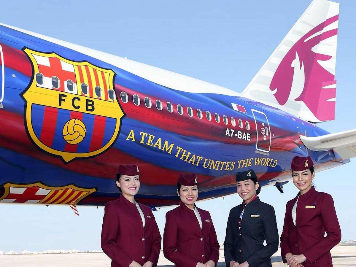 QR Barcelona FC