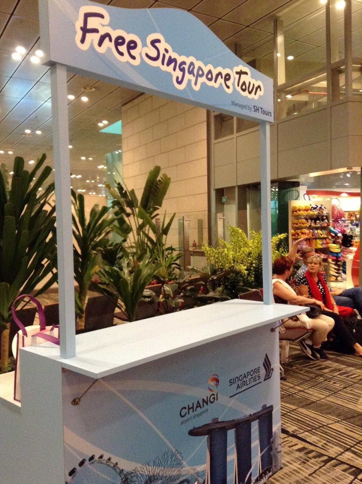Singapore free tour
