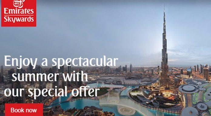 emirates summer offer