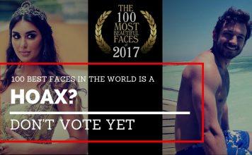 hoax 100 best faces world