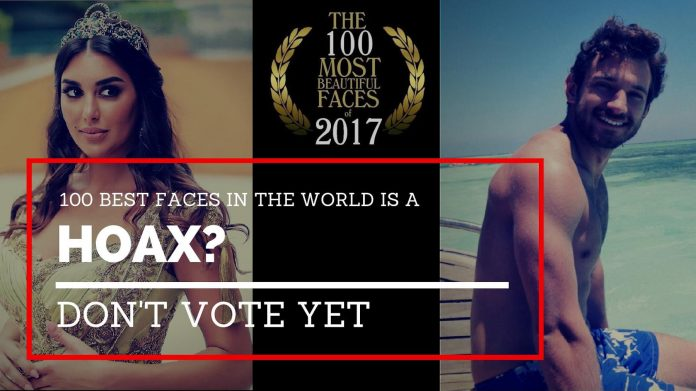 hoax 100 best faces world
