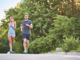 couple workout fitness