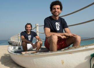 Well now he's teamed up with Omar Nour for another bigger challenge; crossing the Atlantic ocean!