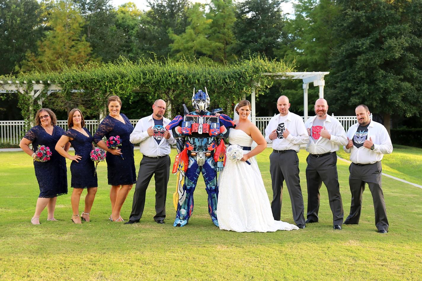 Autobot Wedding Transformers 2