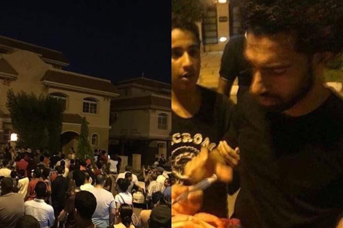 Mo Salah Forced to leave his house after fans are waiting outside