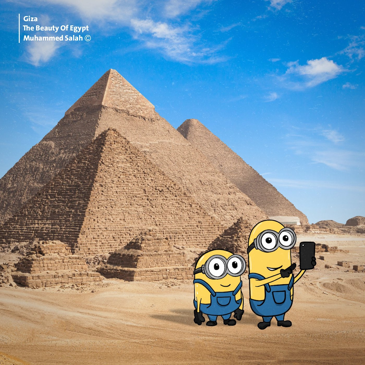 Minions in Egypt