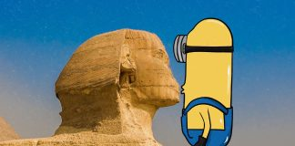 minions Egypt cover