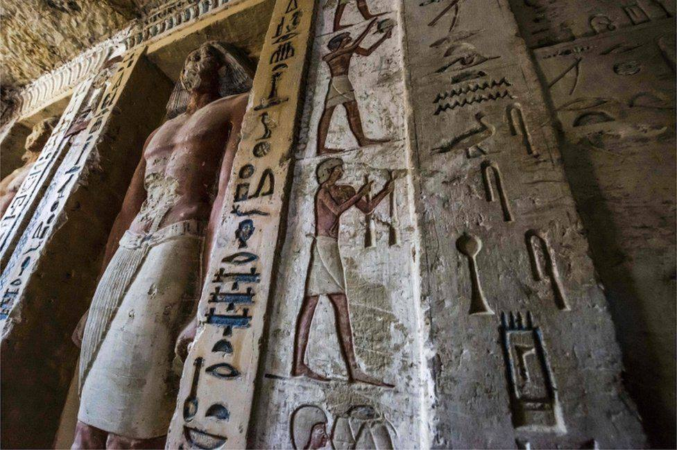 Oldest Intact Tomb Discovered in Egypt 5