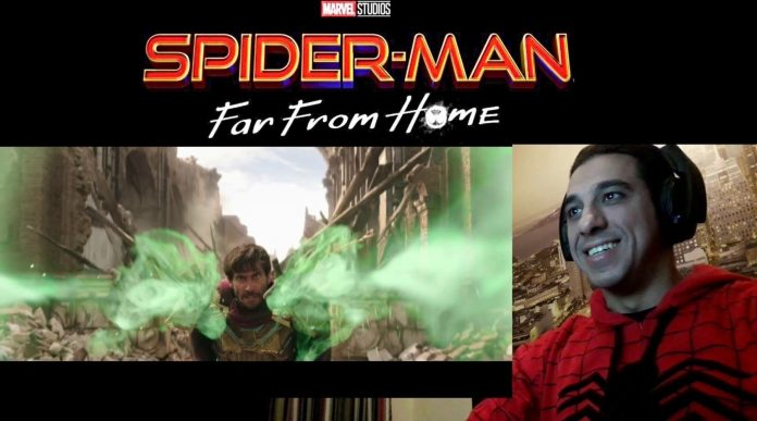 My live reaction and commentary on Spider-man Far from Home trailer