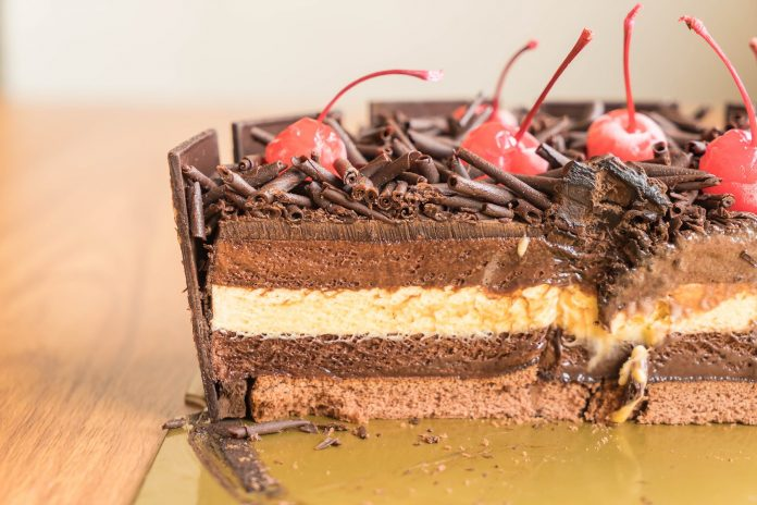 chocolate ice-cream cake