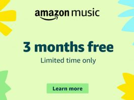 Amazon Music FREE Offer