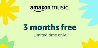 Amazon Music FREE Offer