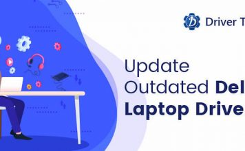Download and Update Outdated Dell laptop drivers