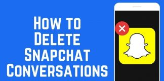 Complete Guidance On How To Delete Snap Conversation 5