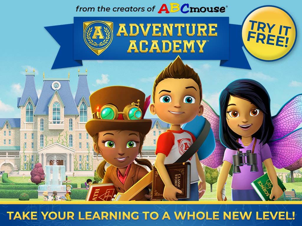 Introducing Adventure Academy - First Month Free