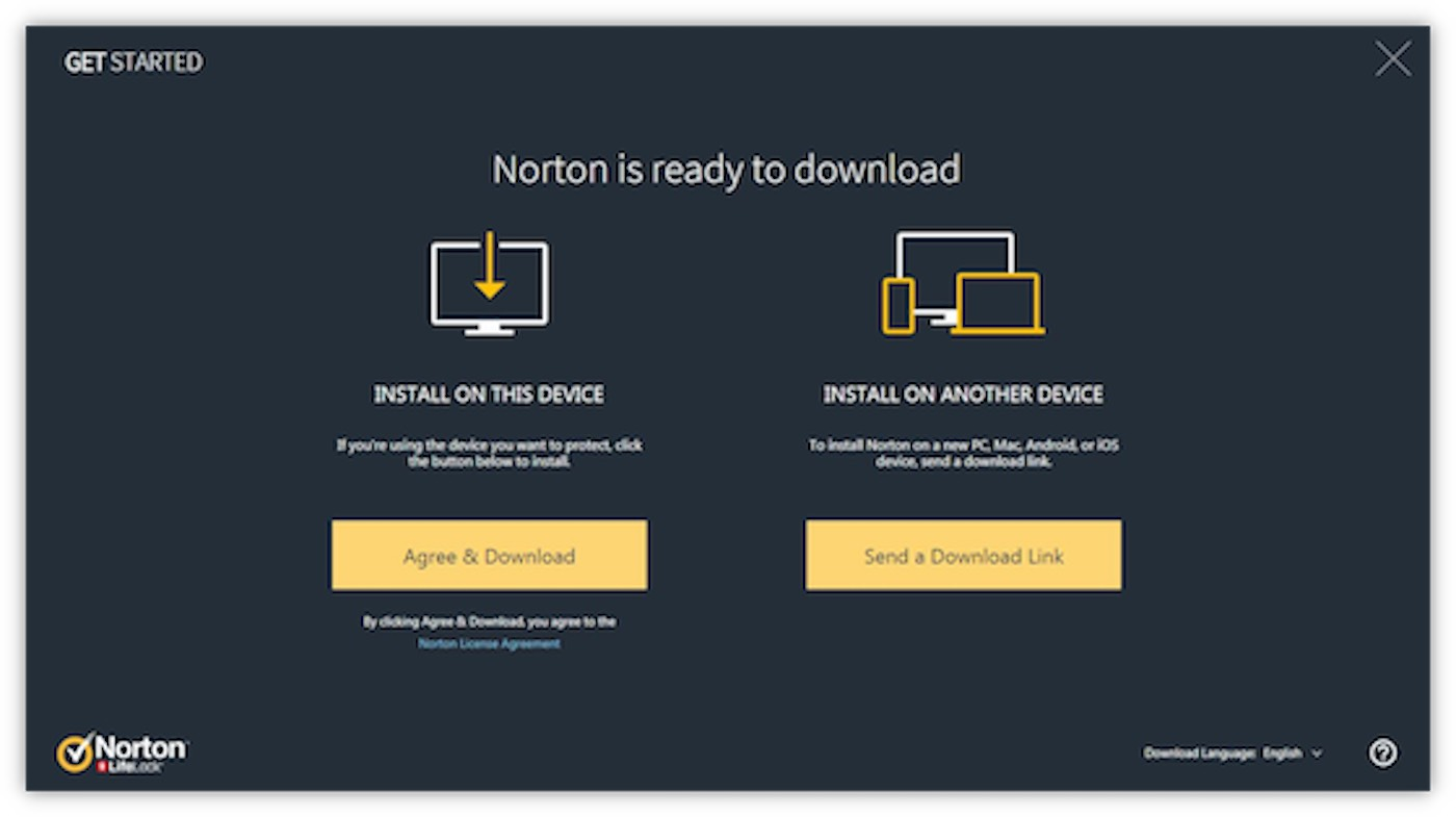 Setup Norton Antivirus