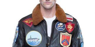 Tom Cruise patches Jacket