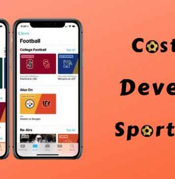 Cost To Develop Sports App