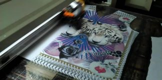 Digital printing on garments: Best laid printing technology