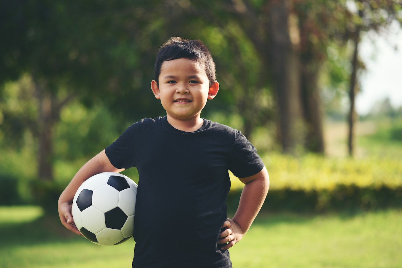 Professional Soccer Player Child 1
