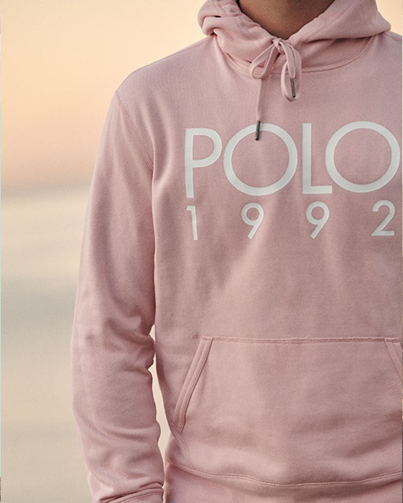 Ralph Lauren Cotton Blend Graphic Hoodie