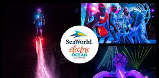 SeaWorld's Electric ocean spectacular