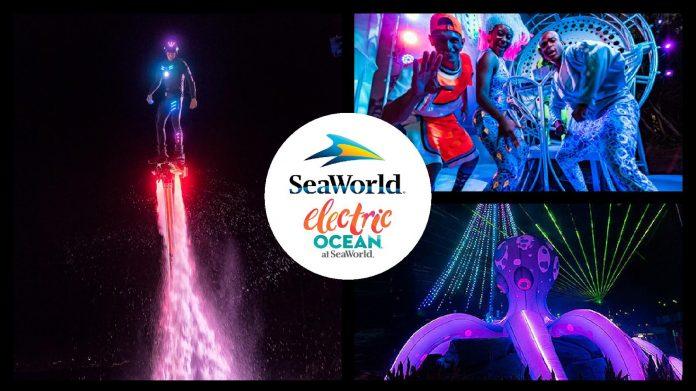 SeaWorld's Electric ocean spectacular