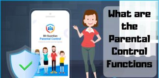 What are the Parental Control Software Functions