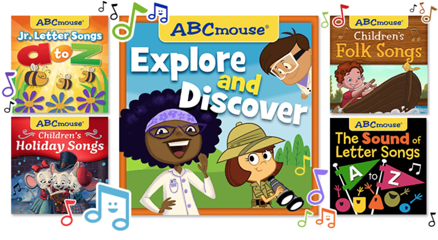 ABCmouse Streaming Songs