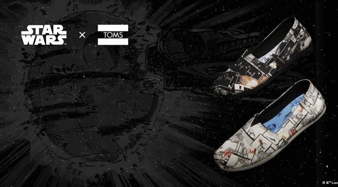 Launching TOMS X Star Wars Collection
