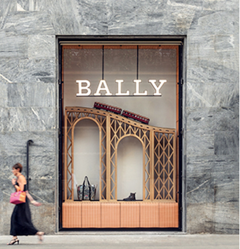 Step into the Bally Haus