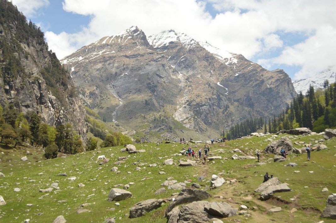 Hampta Pass Himalayas