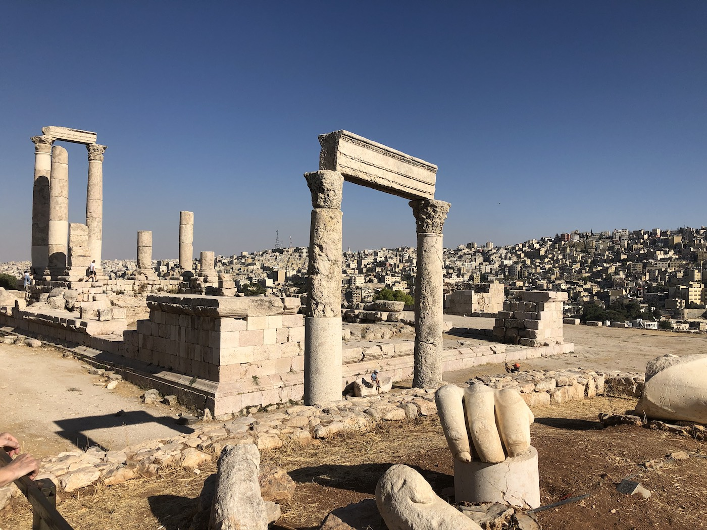 Hercules Temple at Amman Citadel