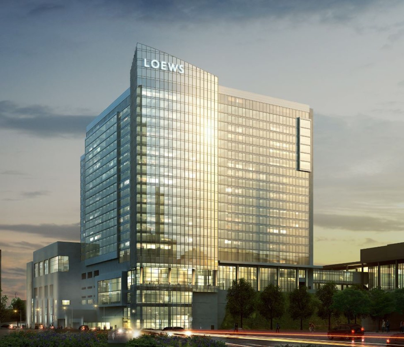 Loews Hotels & Resorts will be opening their new property in Kansas City in Spring 2020