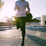 MAN RUNNING EXERCISE