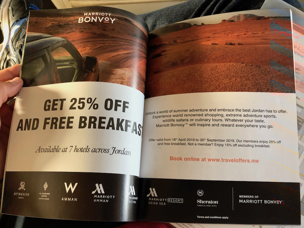 Marriott Bonvoy Jordan Sale