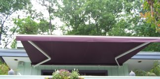 Patio Cover Purple