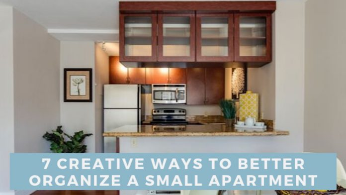 7 Creative Ways to Better Organize a Small Apartment