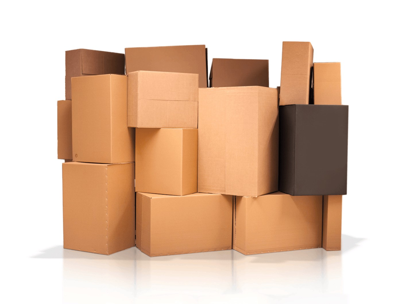 How many stages are involved in the manufacturing of Custom Kraft boxes