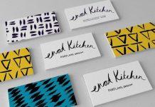 Brand logo Color scheme business card