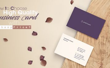Business Card printing Cover