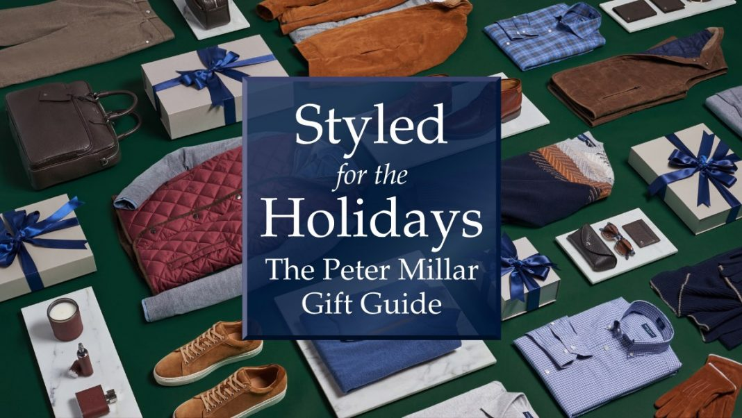 Holiday Gift Guide from Peter Millar