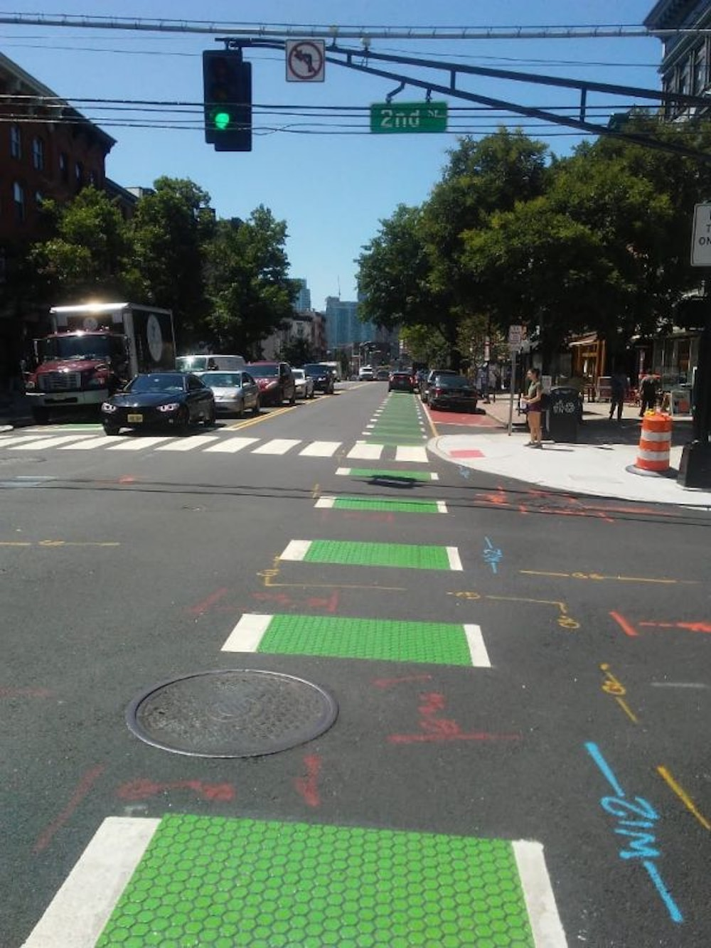 How buffered bike lanes offer additional safety value to cyclists?