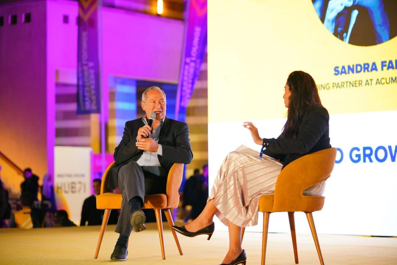 Founder of Orascom Holding AD Samih Sawiris