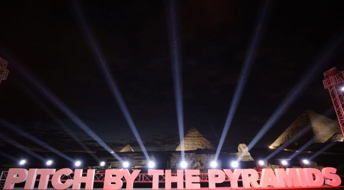 Pitch by the Pyramids